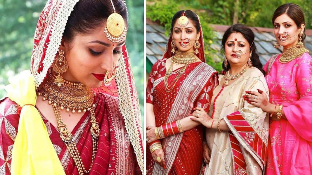 Yami Gautam To Put On Someone Else's Mother, Married With Aditya Dhar, And Did Her Make-Up