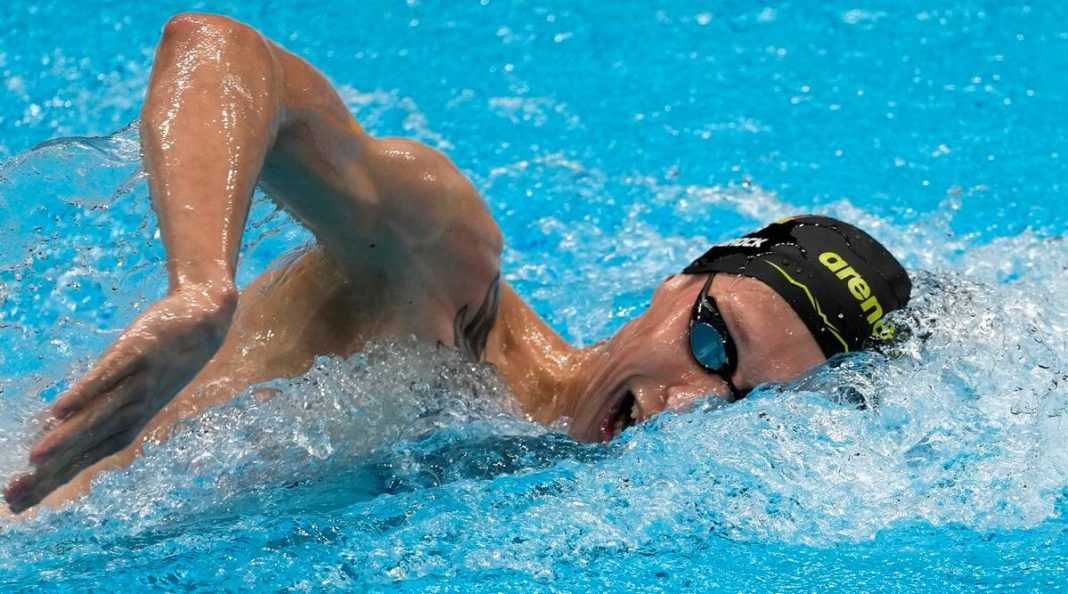 Heat, humidity pose challenges in Olympic marathon swimming