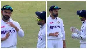 IND V ENG: Virat's priceless reaction to Rishabh pants convinces him to Take The Review   Watch the fun video