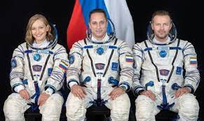 Coming Soon! First Fictional Film Shot In Space. Russian The Crew Reach ISS To Shoot 'The Challenge'